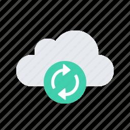 clound, sync icon