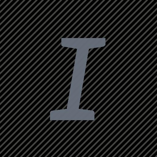 italics, style, text icon