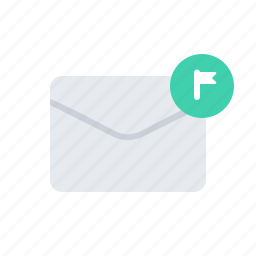 envelope, lettet, mark icon
