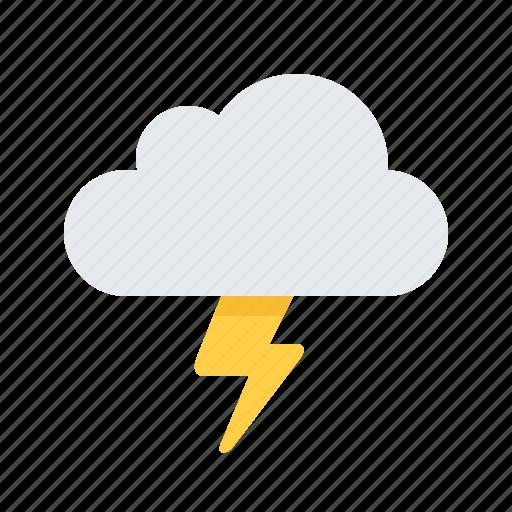 bolt, lightning, thunderstorm, weather icon