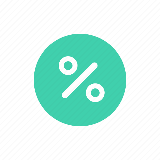 percent, sale icon