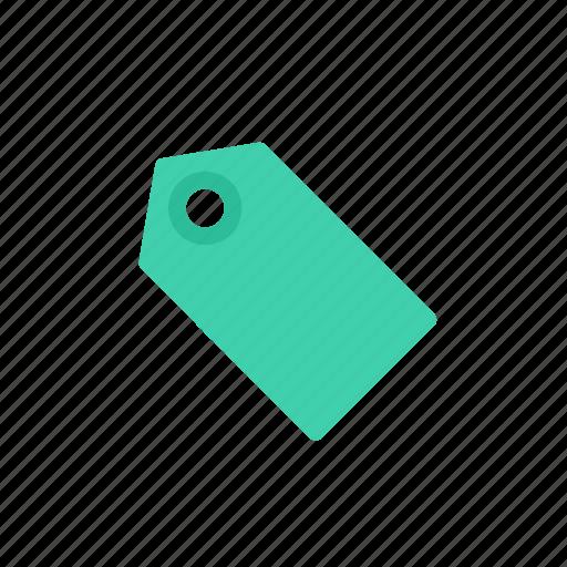green, label, tag icon