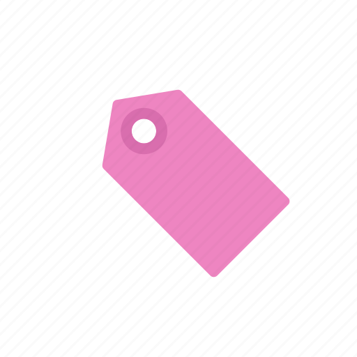 label, pink, tag icon