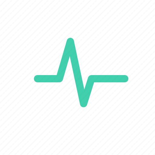 heartbeat, impulse, lifeline, wave icon