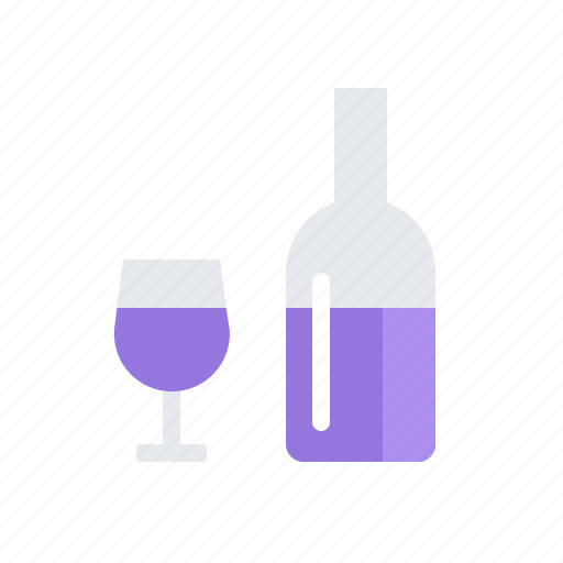 alcohol, drink, vine icon