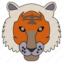 animal, lion, tiger icon