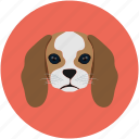 baby baloo, baby dog, dog, pet, puppy icon