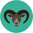 cabra, goat, goat baby, jungle goat icon