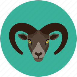 cabra, goat, goat baby, jungle goat icon