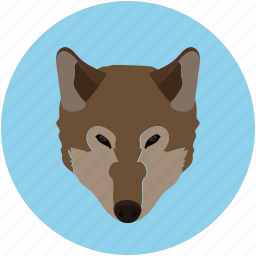 forest, fox, grid, jungle, mammal icon