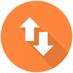 arrow, arrows, direction, down, navigation, up icon