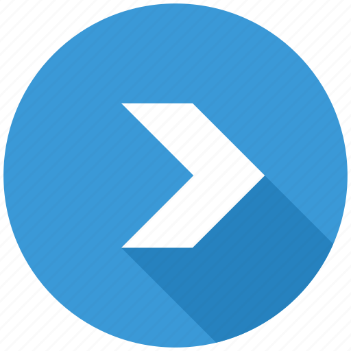 arrow, direction, forward, navigation, next, right icon
