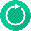 arrow, refresh, reload, renew, repeat icon
