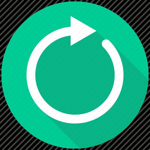 arrow, refresh, reload, renew, repeat icon