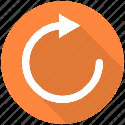 arrow, arrows, refresh, reload, repeat icon