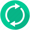 arrow, arrows, load, loading, refresh, renew, repeat icon