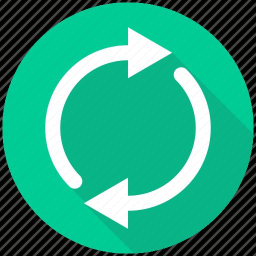 arrow, arrows, load, loading, refresh, renew, repeat icon
