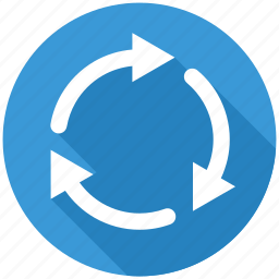 arrow, arrows, loading, recycle, refresh, reload, repeat icon