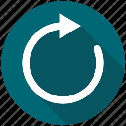 arrow, load, refresh, reload, repeat icon
