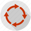 arrow, recycle, refresh, reload, repeat icon