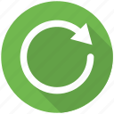 arrow, arrows, load, recycle, refresh, reload, repeat icon