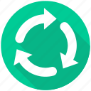 arrow, arrows, refresh, reload, repeat icon