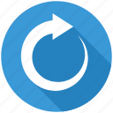 arrow, recycle, refresh, reload, renew, repeat icon