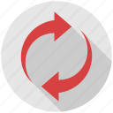 arrow, arrows, recycle, refresh, reload, repeat icon