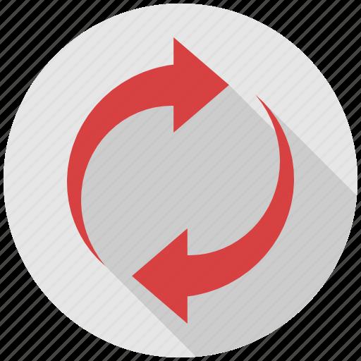 Arrow, refresh, recycle, reload, repeat, arrows icon