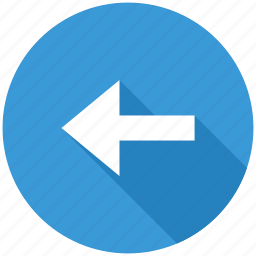 arrow, back, direction, left, move, navigation icon
