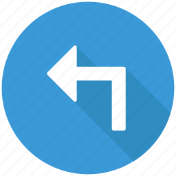 arrow, back, direction, left, navigation icon