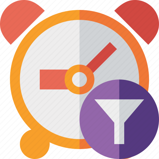alarm, clock, event, filter, schedule, time, timer icon