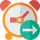 alarm, clock, event, next, schedule, time, timer icon