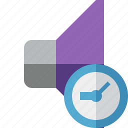 audio, clock, music, sound, speaker, volume icon