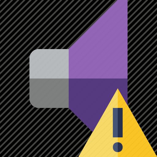 audio, music, sound, speaker, volume, warning icon
