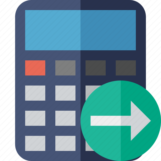 accounting, calculate, calculator, finance, math, next icon