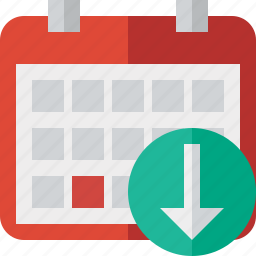 calendar, date, day, download, event, month, schedule icon
