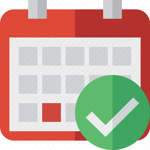 calendar, date, day, event, month, ok, schedule icon