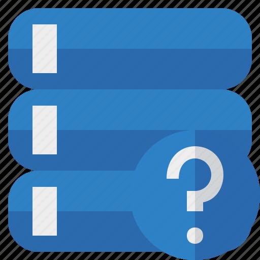 Data, database, help, server, storage icon - Download on Iconfinder
