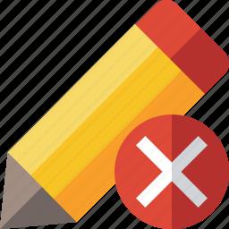 cancel, draw, edit, pen, pencil, tool, write icon