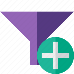 add, filter, funnel, sort, tools icon