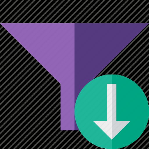 Download, filter, funnel, sort, tools icon - Download on Iconfinder