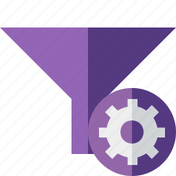 filter, funnel, settings, sort, tools icon