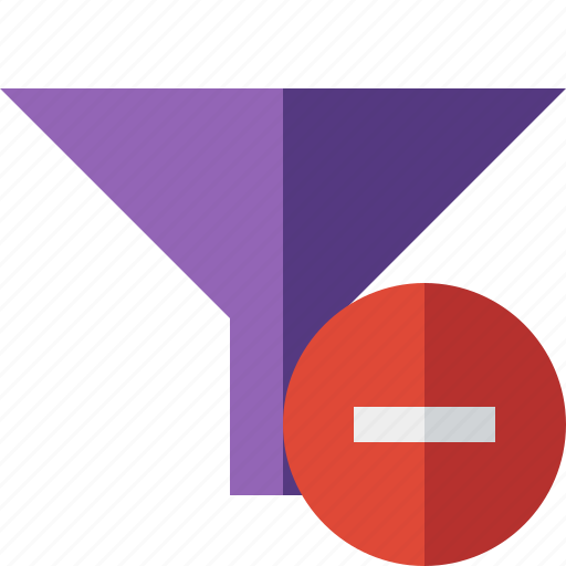 filter, funnel, sort, stop, tools icon