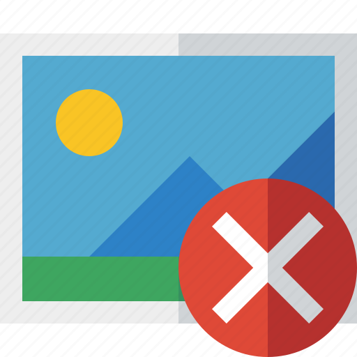 Cancel, gallery, image, photo, picture icon - Download on Iconfinder