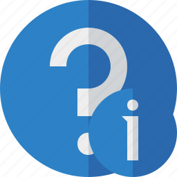 faq, help, information, question, support icon