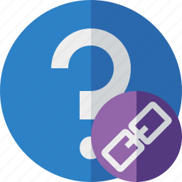 faq, help, link, question, support icon