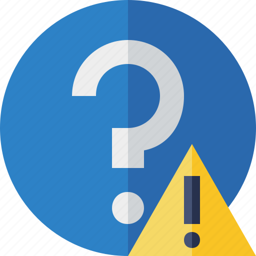 Faq, help, question, support, warning icon - Download on Iconfinder