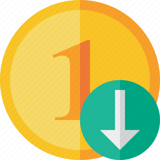 cash, coin, currency, download, finance, money icon