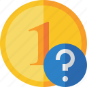 cash, coin, currency, finance, help, money icon